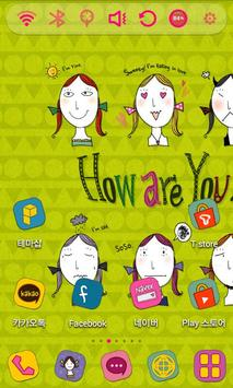 How are you Launcher Theme poster