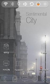 Sentimental City Theme poster