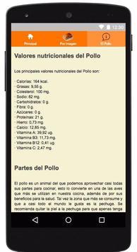 Recetas de Pollo screenshot 2