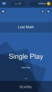Lost Math poster