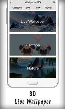 3D Live Wallpaper screenshot 2