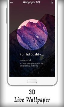 3D Live Wallpaper screenshot 4