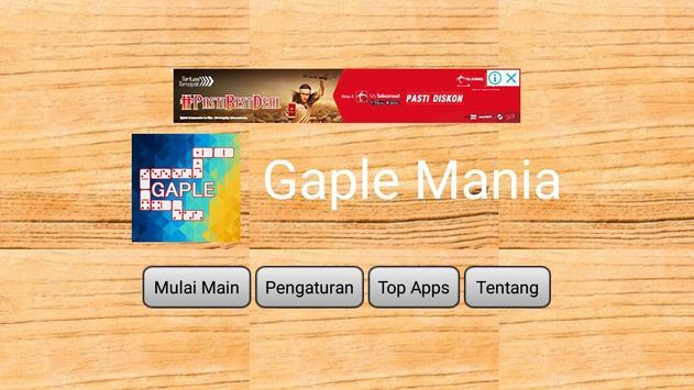 Gaple Mania 2018 poster