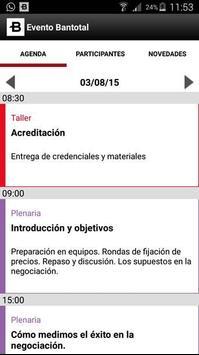 Evento Bantotal screenshot 1