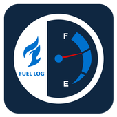 Car Fuel Cost And Average icon
