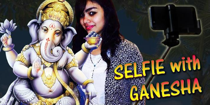 Selfie with Ganesha poster