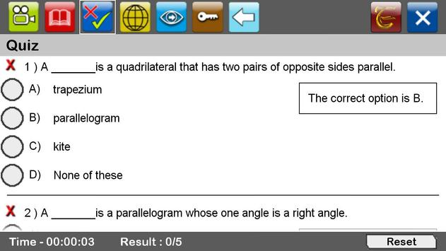 Types of Quadrilaterals apk screenshot