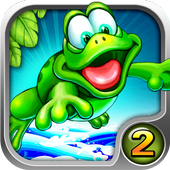 Froggy Jump 2 - Bouncy Time HD icon