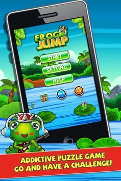 Froggy Jump 2 - Bouncy Time HD screenshot 2