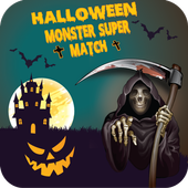 Halloween Monster Super Match icon