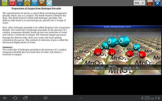 Preparation of O2 from H2O2 screenshot 1