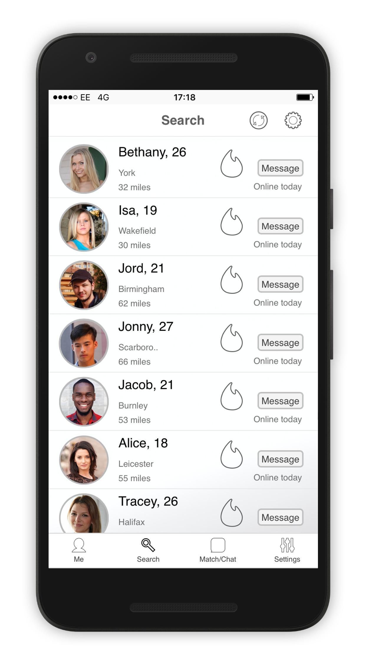 dating app i diseröd)