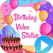 Birthday Wishes Video Songs Icon