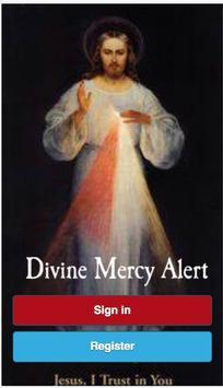 Divine Mercy Alert poster