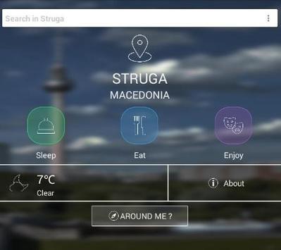 Struga Guide poster