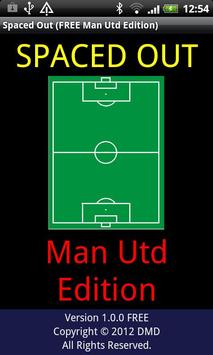Spaced Out (Man Utd FREE) poster