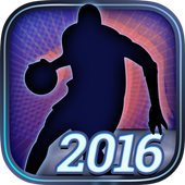 Hoops Rivals Basketball 2016 icon