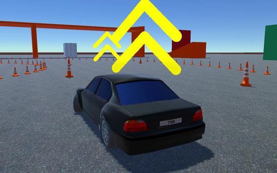 Drift school simulator poster