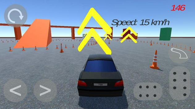 Drift school simulator apk screenshot
