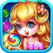 Bubble Mermaid Saga - Classic Bubble Shooter  Game icon