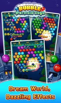 Bubble Mermaid Saga - Classic Bubble Shooter  Game screenshot 2