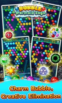 Bubble Mermaid Saga - Classic Bubble Shooter  Game screenshot 4