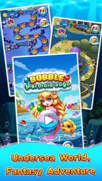 Bubble Mermaid Saga - Classic Bubble Shooter  Game screenshot 5