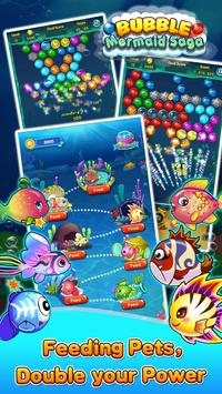 Bubble Mermaid Saga - Classic Bubble Shooter  Game screenshot 6