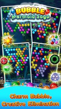 Bubble Mermaid Saga - Classic Bubble Shooter  Game screenshot 9