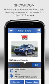 Van Subaru apk screenshot