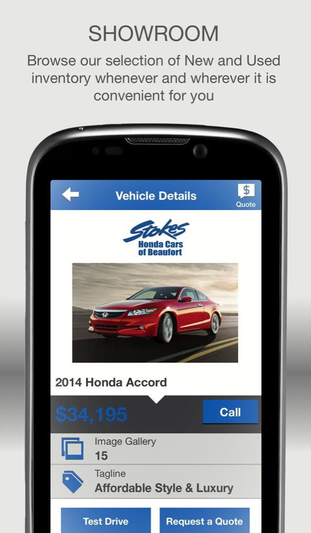 Stokes Honda Beaufort >> Stokes Honda Cars Of Beaufort For Android Apk Download