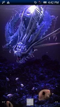 Sea Dragon Black Free poster