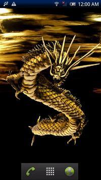 Golden God Dragon Free poster