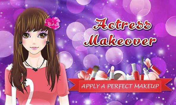 Actress Makeover: Fashion Game poster