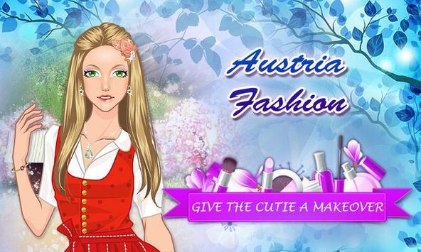 Austria Fashion: Girl Makeup poster