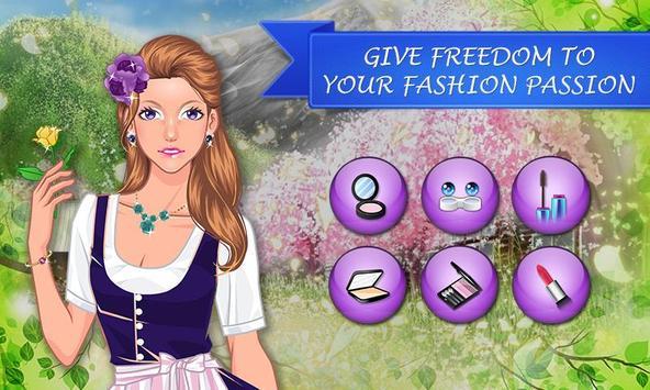 Austria Fashion: Girl Makeup screenshot 2