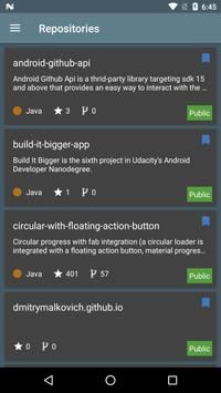 Gito for GitHub screenshot 1