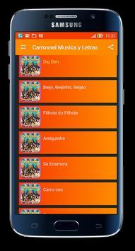 Carrossel Música e Letras apk screenshot