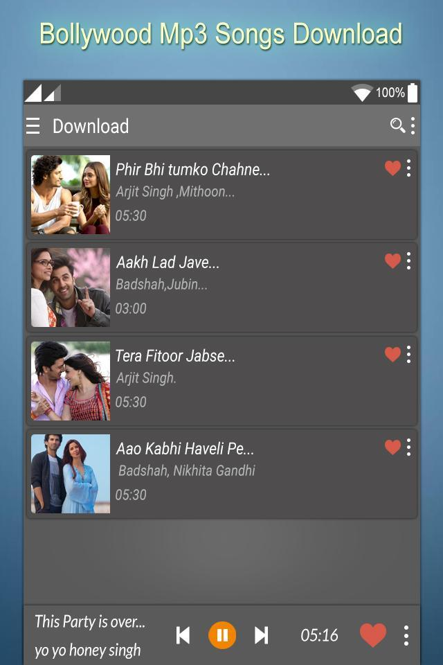 Bollywood MP3 Song Download for Android - APK Download