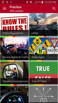 Alabama driving permit test poster