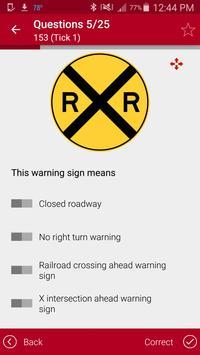 Alabama driving permit test screenshot 5