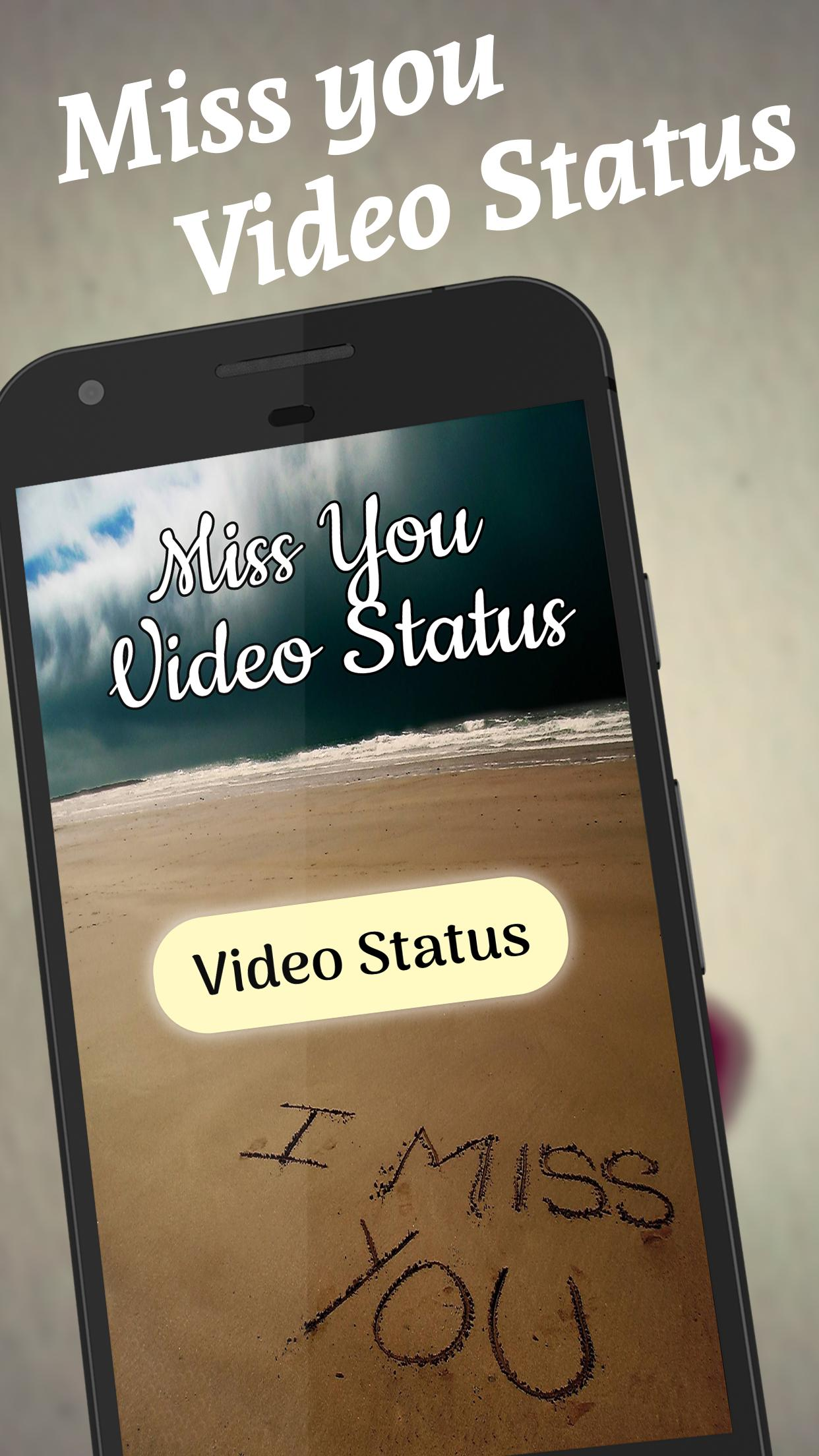 Miss You video status for Android - APK Download
