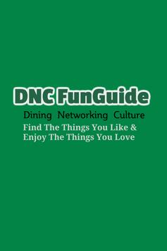 DNC FunGuide poster
