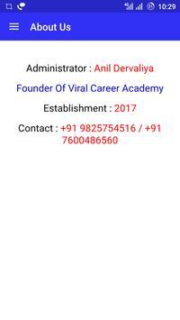 Viral Academy Rajkot screenshot 5
