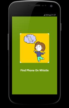 Whistle Phone Finder Pro++ poster