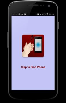 Clap To Find Phone poster