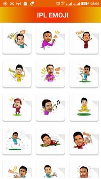 Cicket Emoji 2017 apk screenshot