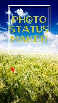 Photo Status Maker poster