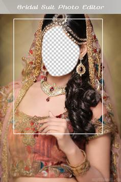 Bridal Suit Photo Editor poster