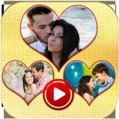 Honeymoon Photo Video Maker icon